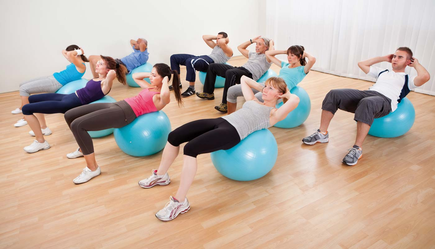 Physiotherapie-Gruppe